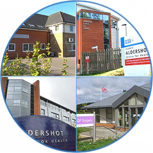 The four surgeries of the Aldershot PCN