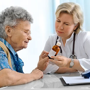 Image of Patient with Doctor